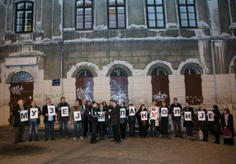 VELIMIR CHURGUZ KAZIMIR MUZEJ MELANHOLIJE Beograd 29. 3.2016. Foto: ZZeljko Jovanovich